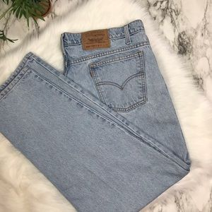 Rare Levi's 550 Orange Tab Relaxed Fit 42x30